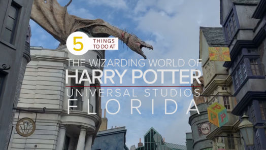 5 Things to Do at the Wizarding World of Harry Potter, Universal Studios, Florida tumbnail