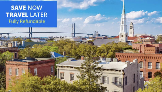 Deal alert: save 50% on one of the best hotels in Savannah, GA tumbnail