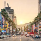 Hollywood Boulevard, Walk of Fame, entertainment industry, celebrity, Los Angeles, LA, CA, California