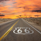 Route 66, California, Mojave desert