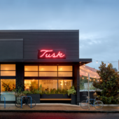 Tusk restaurant exterior