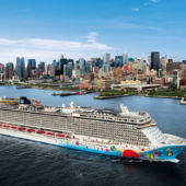 Norwegian Breakaway leaving from NYC