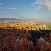 A panoramic view of Bryce Canyon National Park, Utah