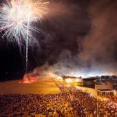 The Asbury Park Boardwalk fireworks