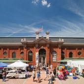 Eastern Market enrance