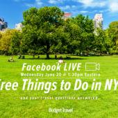Central park facebook live promo