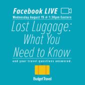 Facebook Live promo