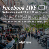 Facebook Live Promo downtown Boise