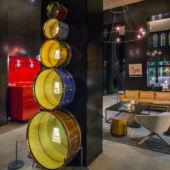 Hotel Lobby drum art
