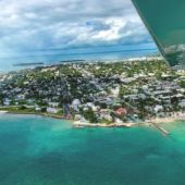 Birds eye view of Key West