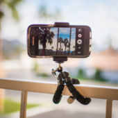 Mini Tripod with phone