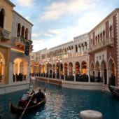 Venetian scen in Las Vegas