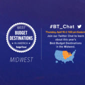 Promo Twitter Chat Best Budget Destinations Midwest