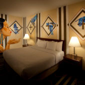 ​Creation at Dawn mural by Nanibah Chacon​ at Nativo Lodge