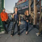 Stylish models in downtown Oakland
