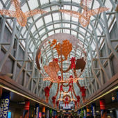 O'Hare Airport Christmas Decorations