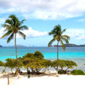 Beach on St Thomas