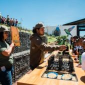 A view of a demonstration at Starbucks' Costa Rica Farmer Support Center