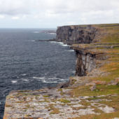 A view of the cliffs on Arranmore Island, Ireland