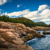 Otter Cliffs, Atlantic Ocean, Acadia National Park, Maine