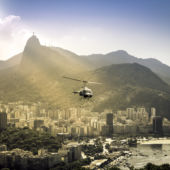 Helicopter Over Rio