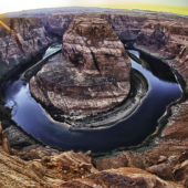 Horseshoe Bend in Page, Arizona