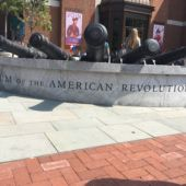 Exterior of the Museum of the American Revolution, in Philadelphia