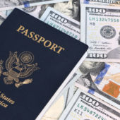 Passport And Us Dollars