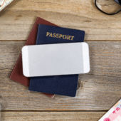 passport and phone