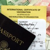 passport vaccine and travel papers
