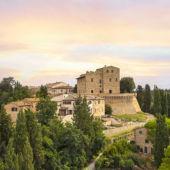 Castle at Castelfalfi in Tuscany