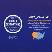 Twitter chat promo West