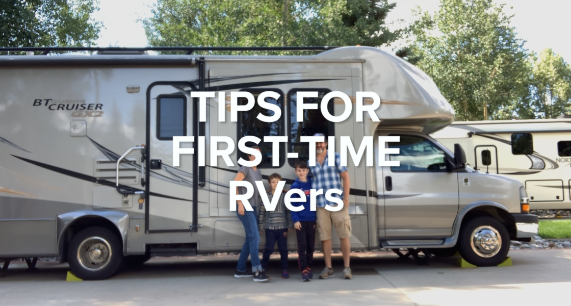 Tips for First-Time RVers on The Road
