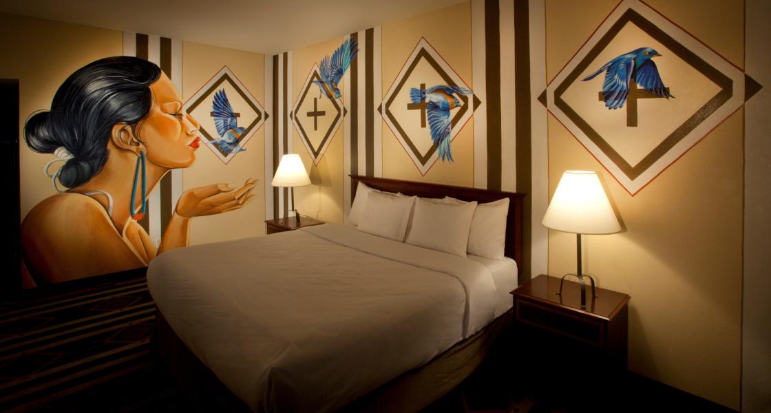 Seven Top Mural Hotels in the U.S.