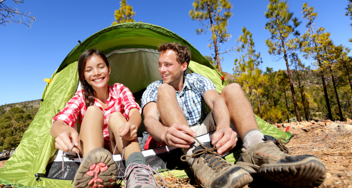 Everything you'll need for a comfortable, first-time camping trip