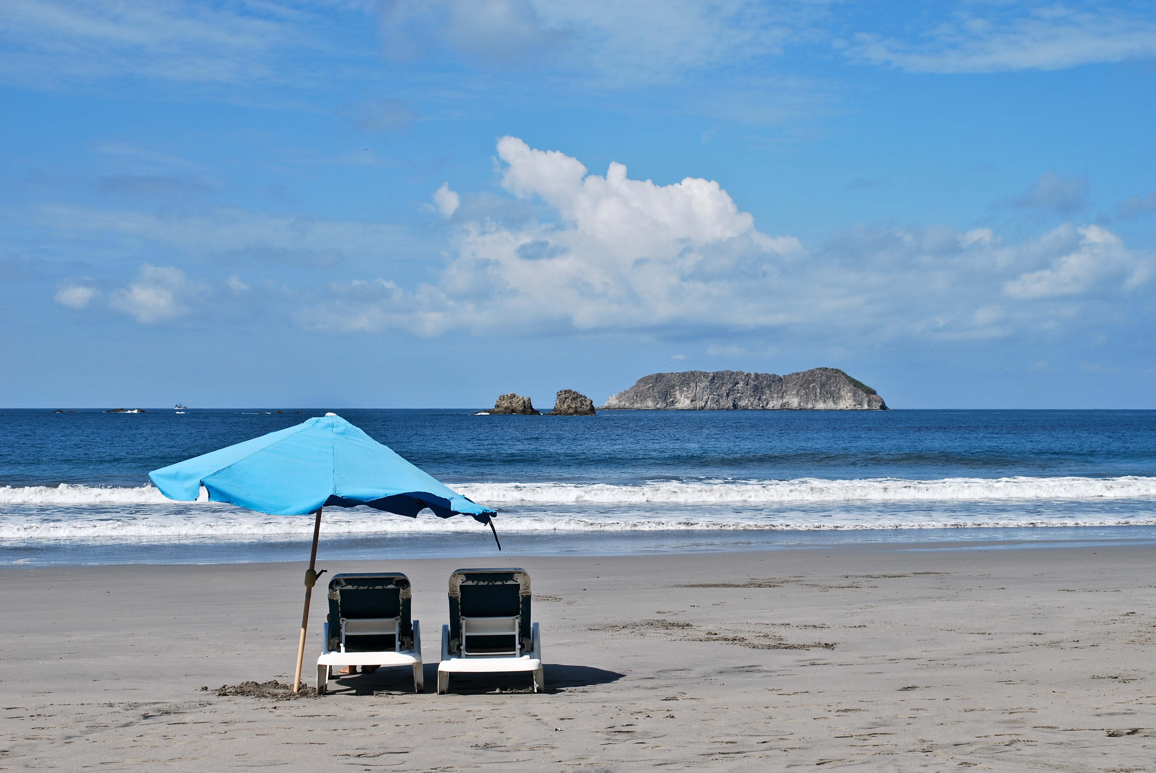 A perfect beach in Costa Rica