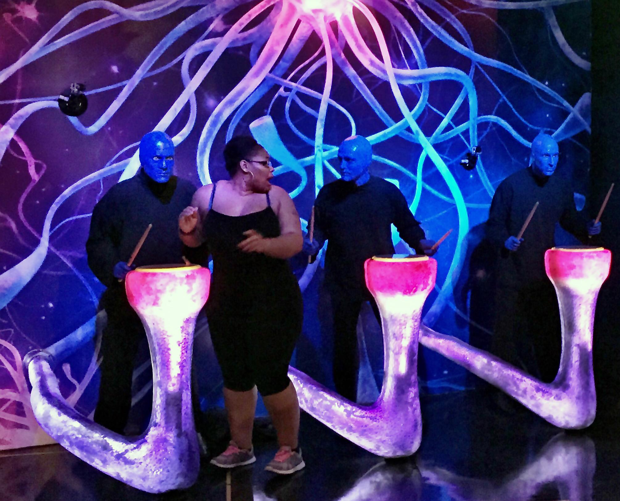 Blue Man Group Prank at Madame Tussauds