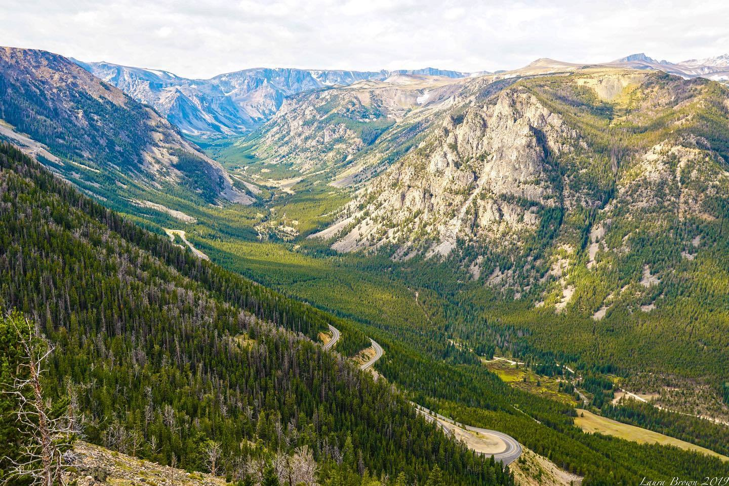 Beartooth Highway in Summer