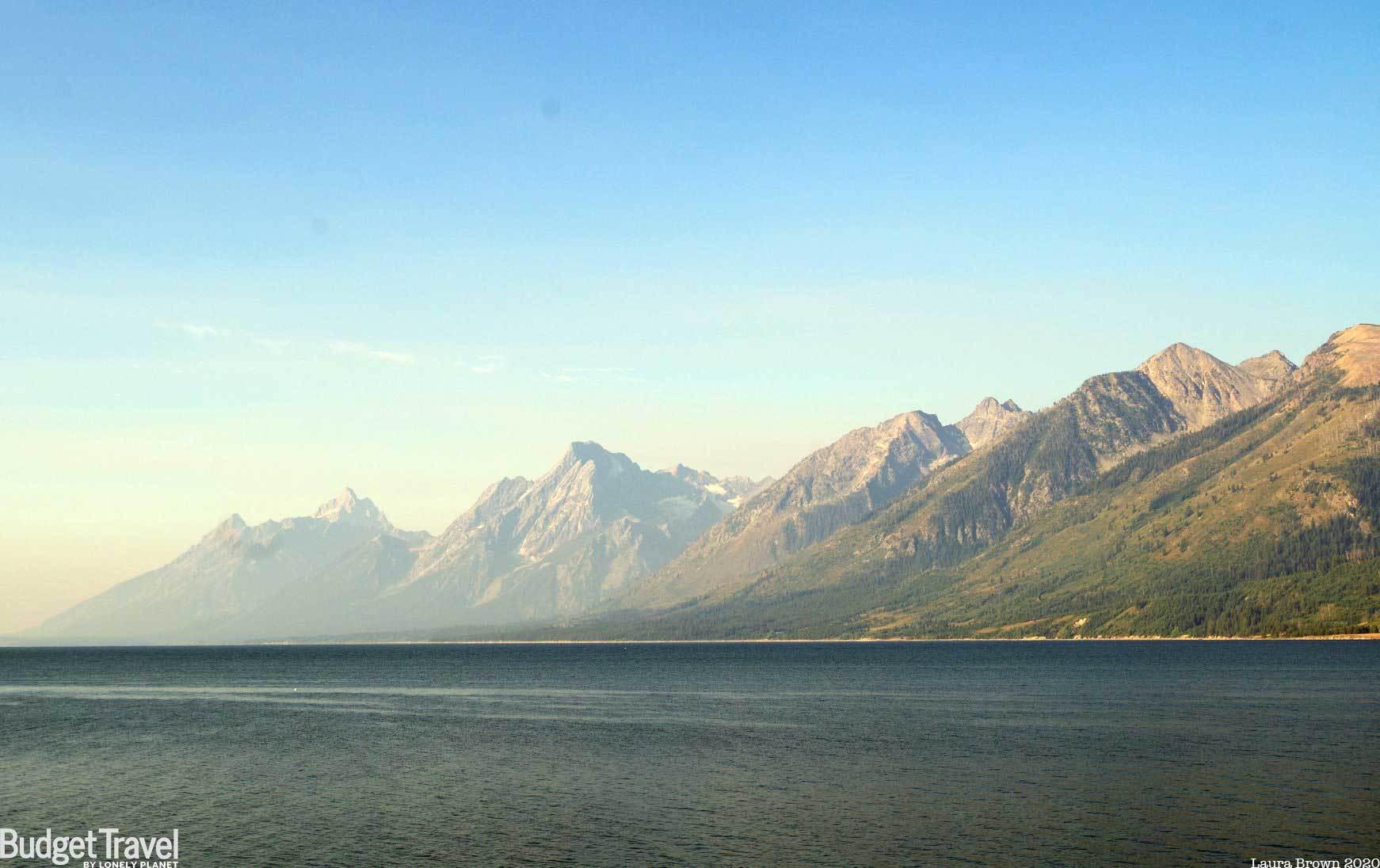 Grand Teton Zoom Background