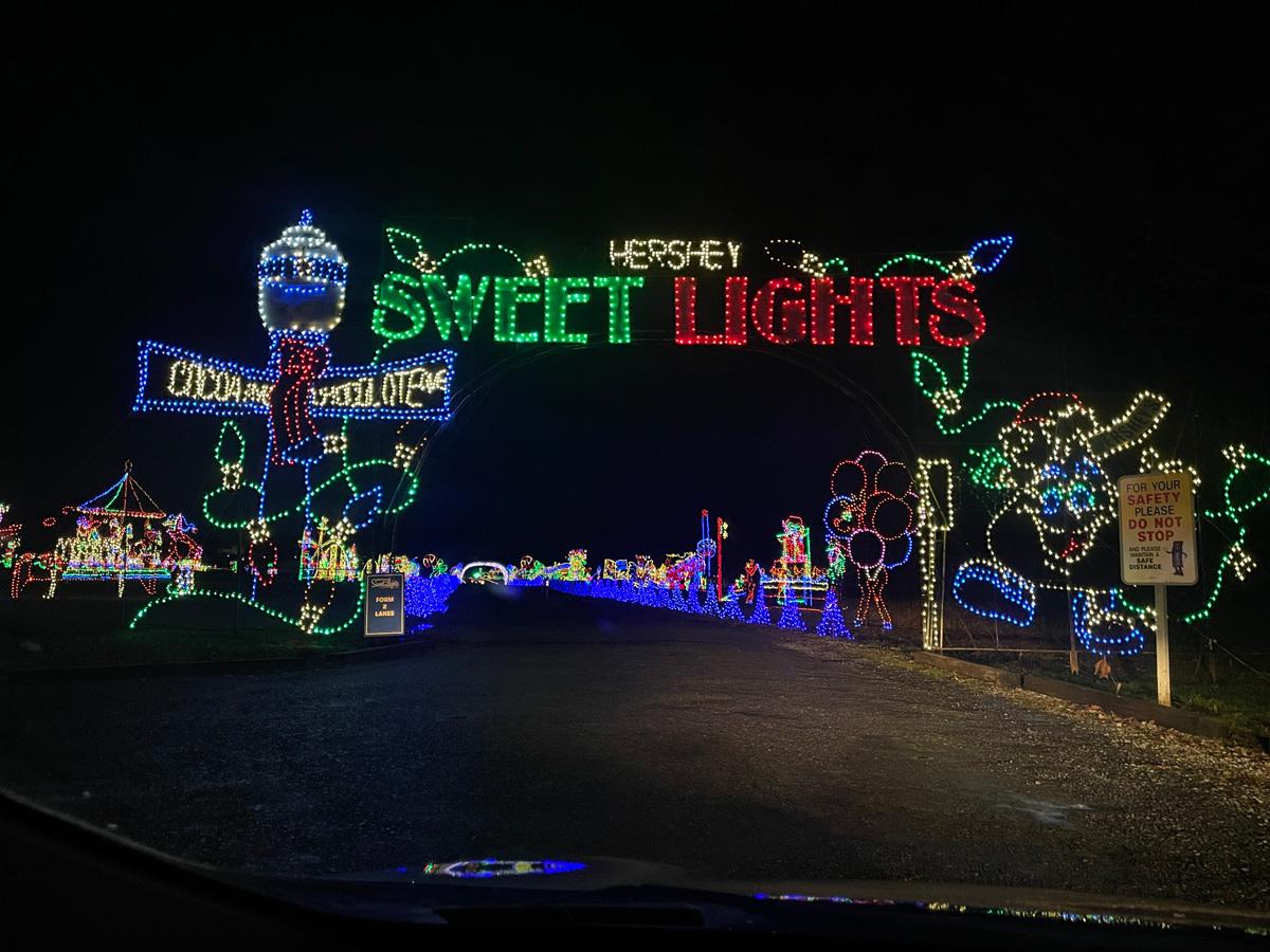 Hershey Pennsylvania Lights Christmas 2020