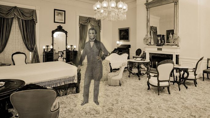 Lincoln Bedroom Haunted