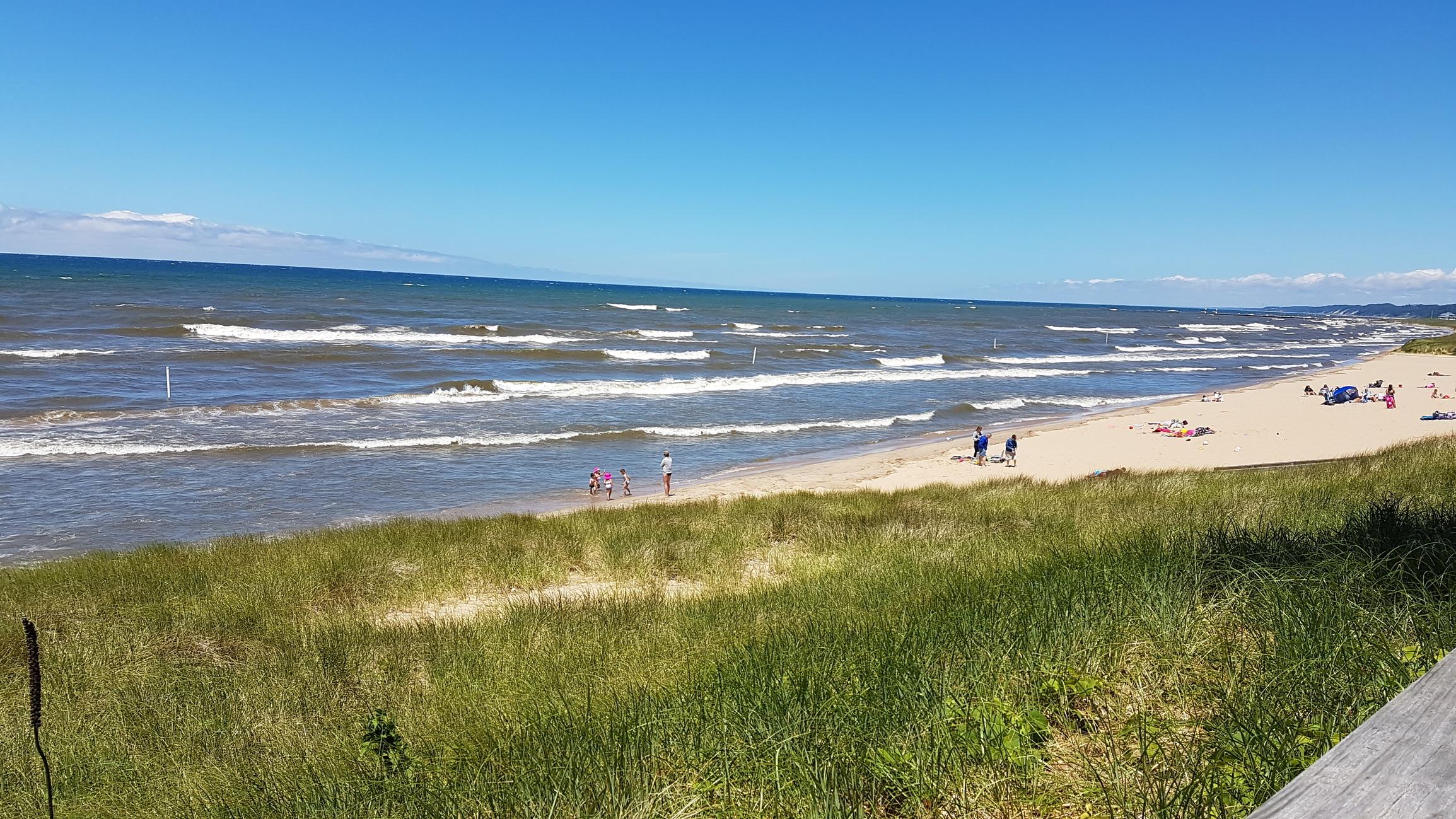 Saugatuck Beach, Michigan
