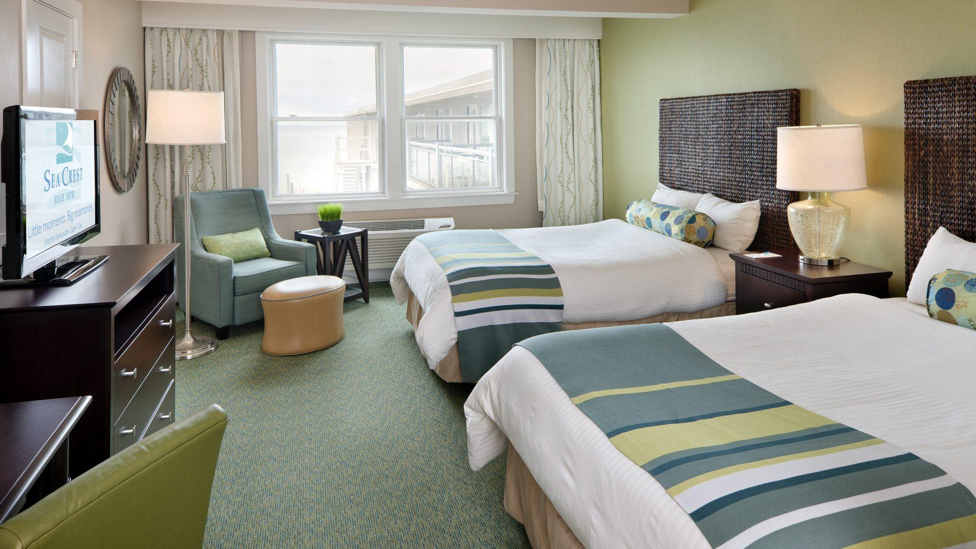 Sea Crest Falmouth MA hotel room
