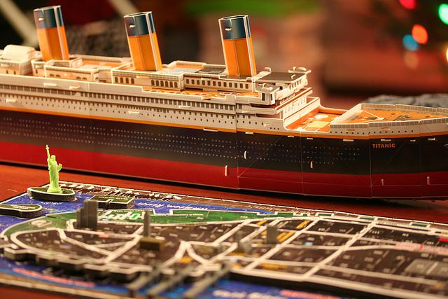 Titanic simulation
